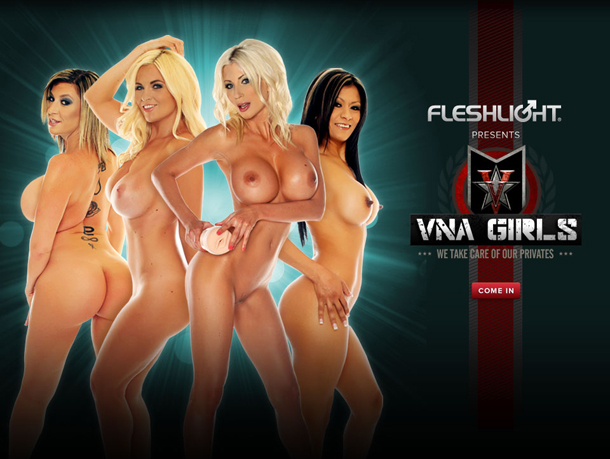 Fleshlight VNA Girls  - Get inside today's hottest adult stars. Puma Swede, Sara Jay, Gabby Quinteros, Bobbi Eden. Available in realistic flesh tone color with our popular Lotus texture. Each custom-molded Fleshlight sleeve is an exact mold of each star's most intimate part.